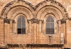 ιερός τάφος της Ιερουσαλήμ εκκλησιών Στοκ Φωτογραφία
