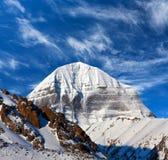 Ιερός τοποθετήστε Kailash στο Θιβέτ στοκ εικόνες