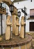 Ιερό άγαλμα εβδομάδας Arcos de στο Λα Frontera κοντά στο Καντίζ Ισπανία Στοκ εικόνα με δικαίωμα ελεύθερης χρήσης