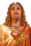 ιερό άγαλμα του Ιησού καρδιών Στοκ Εικόνες