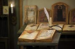 Ιερό βιβλίο Στοκ Φωτογραφίες