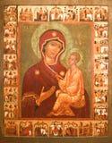 ιερό εικονίδιο Στοκ εικόνες με δικαίωμα ελεύθερης χρήσης