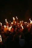 ιερό θαύμα πυρκαγιάς τελ&eps Στοκ εικόνα με δικαίωμα ελεύθερης χρήσης