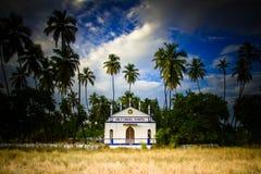 Ιερό διαγώνιο παρεκκλησι, Anjuna, Goa, Ινδία Στοκ Φωτογραφία