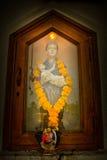Ιερό διαγώνιο παρεκκλησι, Anjuna, Goa, Ινδία Στοκ φωτογραφία με δικαίωμα ελεύθερης χρήσης
