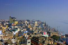 ιερό ινδικό sity Varanasi Στοκ Εικόνες