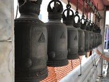 Ιερό κουδούνι του ναού του Βούδα Στοκ Φωτογραφία