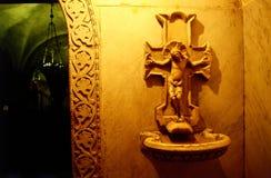 ιερό μαρμάρινο ύδωρ Χριστού στοκ φωτογραφία με δικαίωμα ελεύθερης χρήσης
