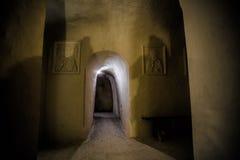 Ιερό μοναστήρι σπηλιών τριάδας Undergroind σε Kholky, περιοχή Belgorod Στοκ φωτογραφία με δικαίωμα ελεύθερης χρήσης