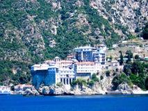 ιερό μοναστήρι athos Στοκ Φωτογραφίες