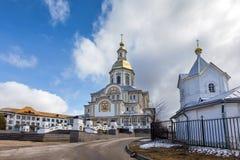 Ιερό μοναστήρι seraphim-Diveevo τριάδας, Diveevo, Ρωσία Στοκ Εικόνα