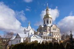 Ιερό μοναστήρι seraphim-Diveevo τριάδας, Diveevo, Ρωσία Στοκ φωτογραφία με δικαίωμα ελεύθερης χρήσης