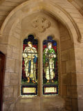 ιερό παράθυρο τριάδας λεπτομέρειας καθεδρικών ναών Στοκ Εικόνα