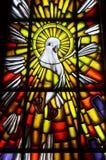 Ιερό σύμβολο περιστεριών πνευμάτων Στοκ εικόνα με δικαίωμα ελεύθερης χρήσης