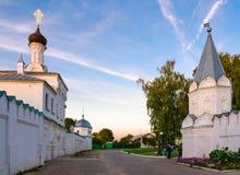 Ιερό Annunciation μοναστήρι και ιερή μονή τριάδας, Murom, Rus Στοκ εικόνα με δικαίωμα ελεύθερης χρήσης