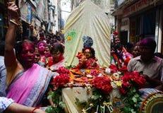 Ιερό Ashura γιορτάζει Dhaka, Μπανγκλαντές Στοκ εικόνα με δικαίωμα ελεύθερης χρήσης