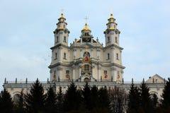 Ιερό Dormition Pochayiv Lavra σε Pochayiv, Ουκρανία Στοκ φωτογραφίες με δικαίωμα ελεύθερης χρήσης