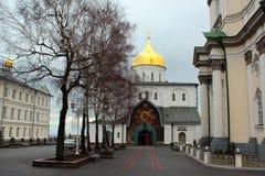 Ιερό Dormition Pochayiv Lavra σε Pochayiv, Ουκρανία Στοκ Εικόνες