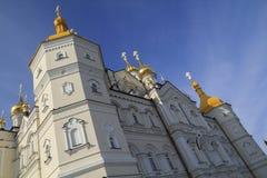 ιερό lavra dormition pochayiv Στοκ Φωτογραφία