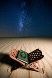 ιερό quran στοκ εικόνα με δικαίωμα ελεύθερης χρήσης