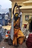 ιερό sadhu ατόμων της Ινδίας στοκ φωτογραφίες με δικαίωμα ελεύθερης χρήσης