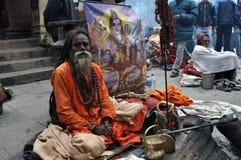 ιερό sadhu ατόμων της Ινδίας στοκ φωτογραφία