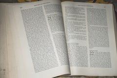Ιερό Scripture στοκ εικόνες