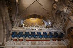 ιερό sepulcher εκκλησιών Ιερουσαλήμ Ισραήλ στοκ φωτογραφία με δικαίωμα ελεύθερης χρήσης