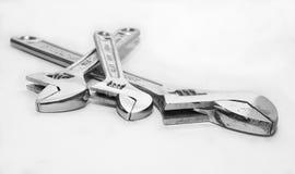 διευθετήσιμο γαλλικό κλειδί Στοκ φωτογραφίες με δικαίωμα ελεύθερης χρήσης