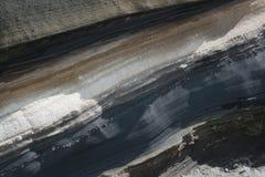 ιζήματα τέφρας Στοκ φωτογραφία με δικαίωμα ελεύθερης χρήσης