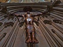 Ιησούς κάτω από το ρολόι Στοκ φωτογραφίες με δικαίωμα ελεύθερης χρήσης
