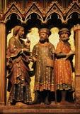 Ιησούς και απόστολος δύο στο δρόμο σε Emmaus στοκ εικόνα με δικαίωμα ελεύθερης χρήσης