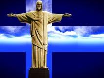 Ιησούς ο απελευθερωτής στοκ εικόνα