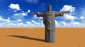 Ιησούς ο απελευθερωτής στοκ φωτογραφίες με δικαίωμα ελεύθερης χρήσης