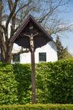 Ιησούς στο σταυρό, Inri Στοκ φωτογραφίες με δικαίωμα ελεύθερης χρήσης