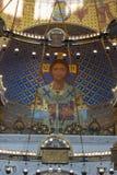 Ιησούς Χριστός και απόστολοι στο εσωτερικό της ναυτικής ορθόδοξης Cath Στοκ φωτογραφία με δικαίωμα ελεύθερης χρήσης