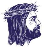 Ιησούς Χριστός, ο γιος του Θεού, σύμβολο συρμένου διανυσματικού σκίτσου απεικόνισης χριστιανισμού του χέρι Στοκ φωτογραφίες με δικαίωμα ελεύθερης χρήσης