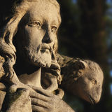 Ιησούς Χριστός - ο καλός ποιμένας στοκ φωτογραφίες