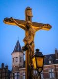 Ιησούς Χριστός στο διαγώνιο άγαλμα στοκ φωτογραφίες