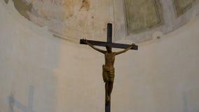 Ιησούς Χριστός στο σταυρό, crucifix απόθεμα βίντεο