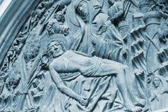 Ιησούς Χριστός basrelief στοκ φωτογραφία με δικαίωμα ελεύθερης χρήσης