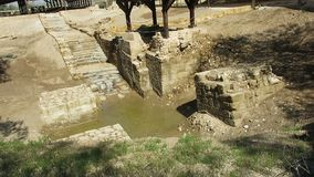 Ιησούς Baptism, ποταμός Ιορδάνης, ταξίδι, Άγιοι Τόποι φιλμ μικρού μήκους