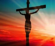 Ιησούς Blood Sacrifice Στοκ φωτογραφία με δικαίωμα ελεύθερης χρήσης