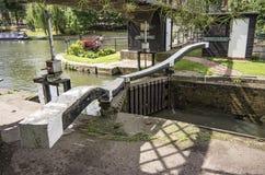 Ιησούς Lock, έκκεντρο ποταμών, Καίμπριτζ Στοκ εικόνα με δικαίωμα ελεύθερης χρήσης