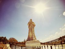 Ιησούς Statue, παλαιά Αβάνα Κούβα Στοκ εικόνες με δικαίωμα ελεύθερης χρήσης