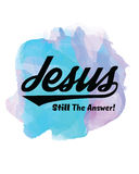 Ιησούς Still η απάντηση Απεικόνιση αποθεμάτων