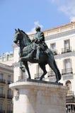ΙΙΙ άγαλμα του Phillip Στοκ Εικόνα