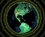 ΙΙΙ technoplanet Στοκ φωτογραφία με δικαίωμα ελεύθερης χρήσης