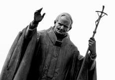 ΙΙ άγαλμα παπάδων John Paul Στοκ Φωτογραφίες