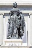 ΙΙ άγαλμα Isabel Στοκ Εικόνα
